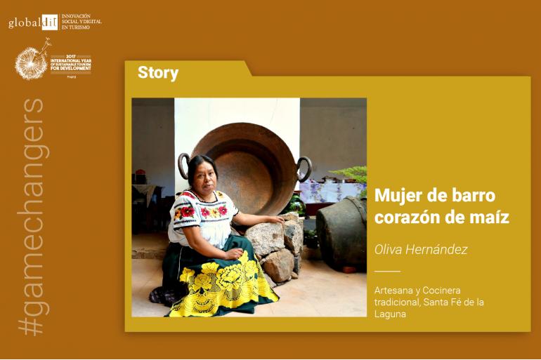 Oliva Fernández, mujer de barro corazón de maíz